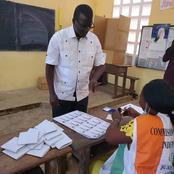 Législatives à Katiola : le candidat du Rhdp Camara Thomas a accompli son devoir civique ce samedi