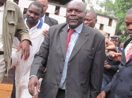 Bonchari MP John Oroo Dies