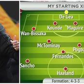 Le onze fantastique dont Manchester United rêve pour l'été