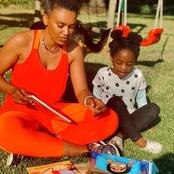 Watch : Pearl Thusi pens a candy message to have funded her daughter Okuhle's birthday