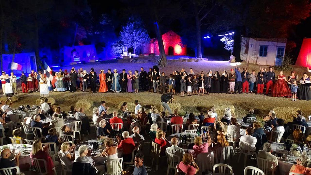 La vie du Robin des bois de Provence, Gaspard de Besse raconté avec réussite en spectacle historique à Fuveau : REPORTAGE