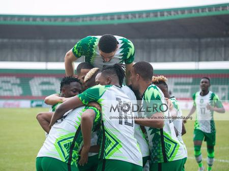 Super Eagles move up in the World FIFA Ranking for Month of April