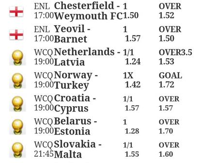 Eight(8)Multibets With GG And Over 2.5 With 100% Surety For Tonight's Huge Win.