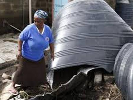 Massive damage as Ruto water tank and wheelbarrows donation destroyed, Embakasi West MP targeted