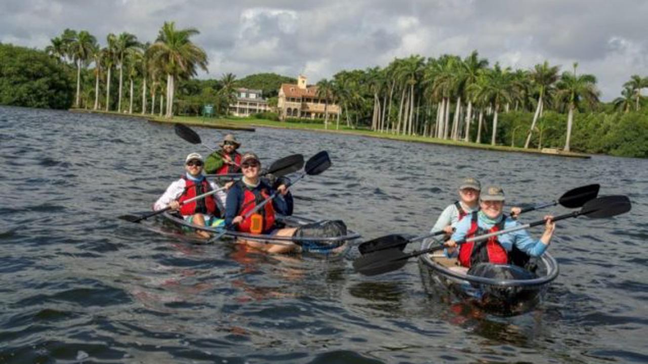 Deering Estate offers kayaking adventures, daily kayak rentals