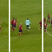 How referee once robbed Leo Messi of likely goal for history books with untimely whistle (video)