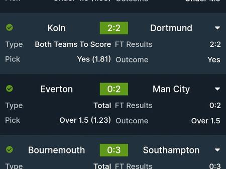 Seven(7)Brilliantly Fixed GG,Over 2.5 Matches To Stake On For Tonight's Huge Returns