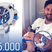 See Messi and other Famous footballers wristwatches and how much they cost