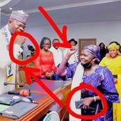 Popular Hausa Actress, Saratu Daso Shares Pictures With Governor Of Kogi