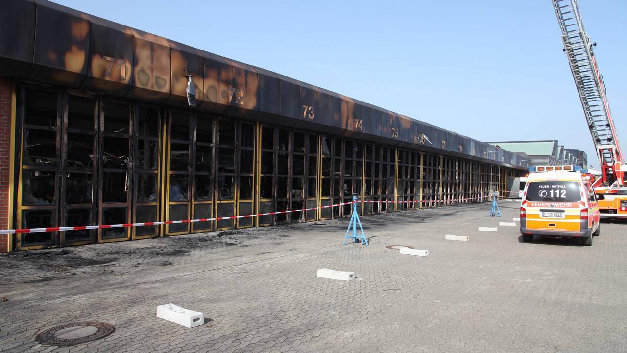 Ursache für Großbrand in Düsseldorf-Heerdt geklärt