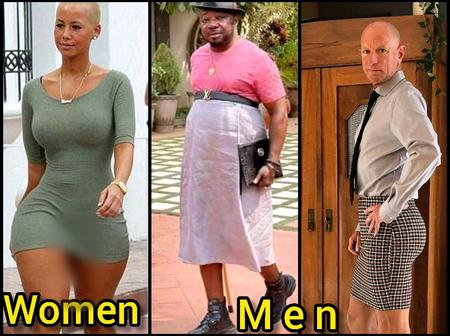Check Out Photos Of Some Men Wearing Skirts