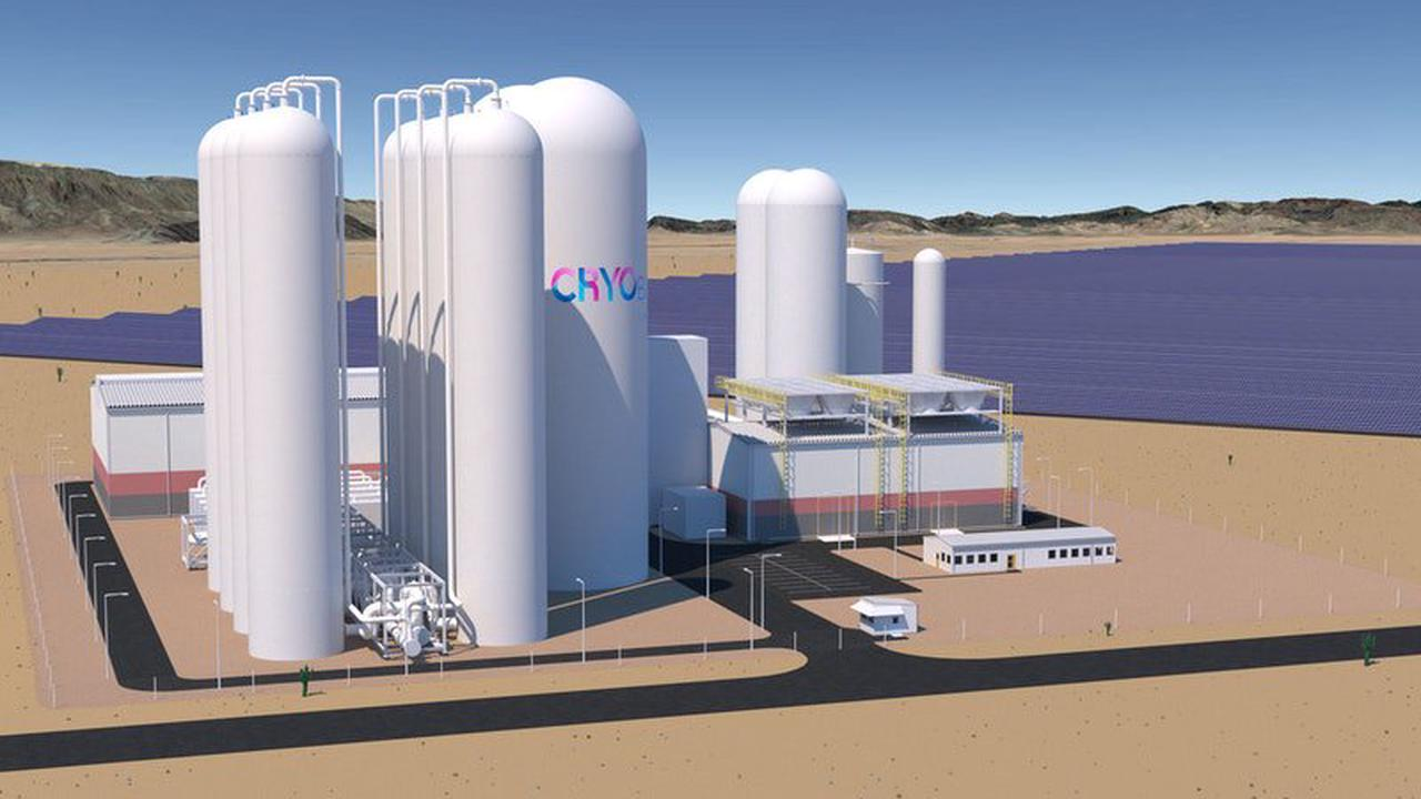 50MW/500MWh Liquid Air Energy Storage Facility in the Atacama Region