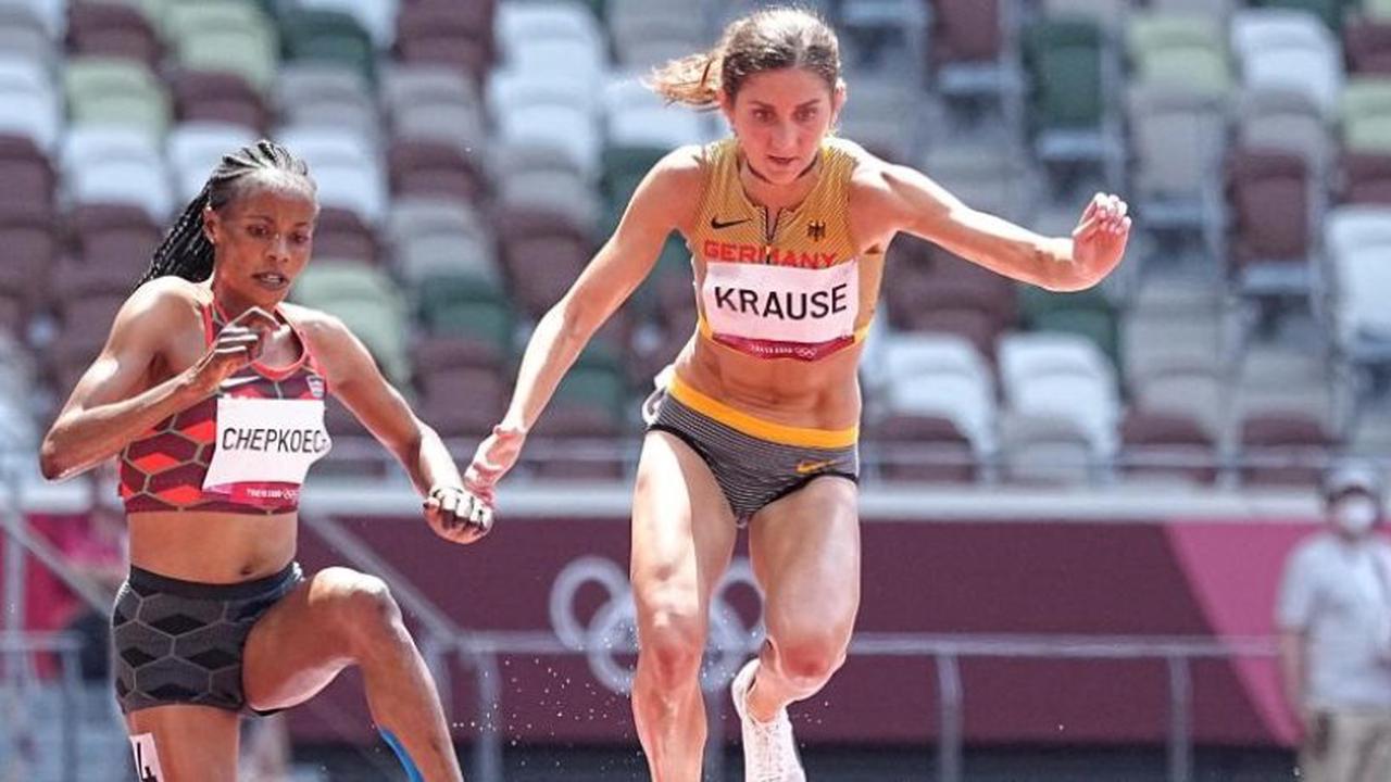 Hindernisläuferin Krause läuft souverän ins Finale