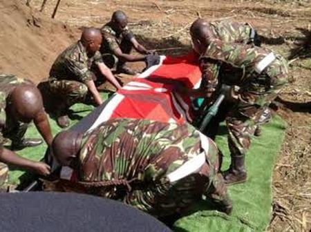 27 Years Old Woman Kills Her KDF Husband With This Surprising Weapon, See More Details