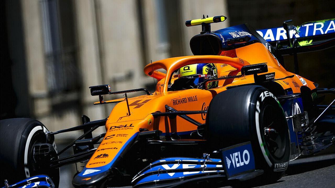 Formel 1 Baku, Strafe für Norris: Unverständnis bei McLaren