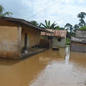 Société : quand une énorme pluie s'abat sur Bouaflé et fait d'importants dégâts dans les environs