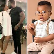 Basketmouth, Frank Edoho, Okey Bakassi, others, celebrate popular comedian's son who just clocked 1