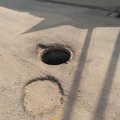 Yopougon : un égout ouvert en face de l'école maternelle Mamie Adjoua inquiète...