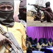 See Photos Showing Children Undergoing Religious & Combat Training In Boko Haram's Camp