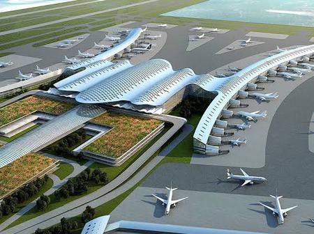 Check Out The Level Of Work Done On The Ongoing Ebonyi State International Airport Construction.
