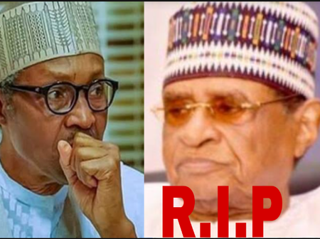 Sad day, as Nigeria losses another politician, who is also an ally of president Muhammadu Buhari