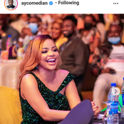 Nengi flaunts the tattoo on her thigh at Ay Live Concert