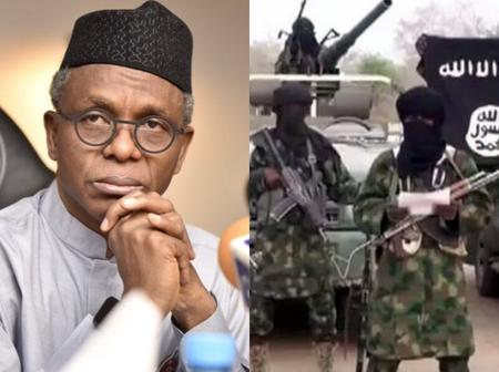 Check Out What El-Rufai Said Should Be Done To Boko Haram, Bandits And Kidnappers