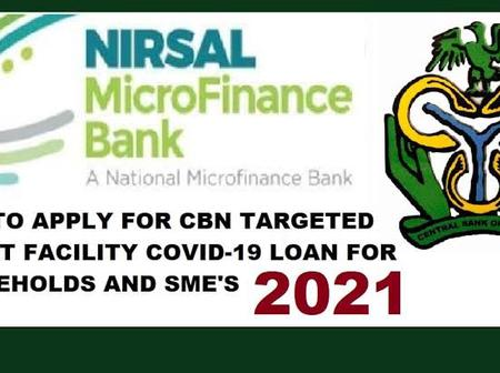 Update On NIRSAL: Application Closing Date, Payment Date And How To Reapply Again For Covid19 Loan