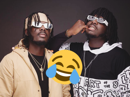 This Is Funny; Musical Twins, Dope Nation Childhood Photo Surfaces Online.