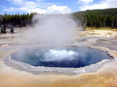 The Boiling River that Kills Anything That falls Into It, Check to see the Temperature.