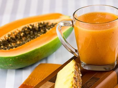 Blend Pawpaw And Ginger With Lemon, Drink In The Morning To Cure These Health Problems