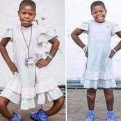 Beautiful Smiles From A Girl After Surgery To Straighten Her Bowlegs, See Reactions On Facebook