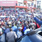 Raila Halali! Ruto Told After Massive Welcome In Westlands A Week After ODM's Leader Tour