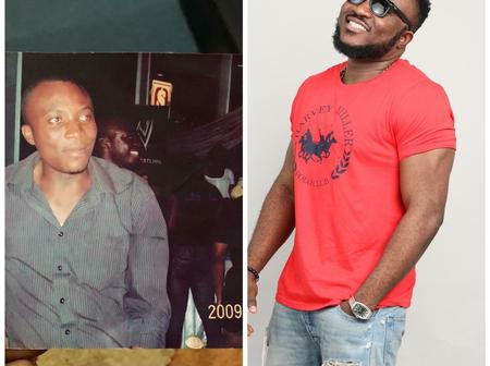 Pictures of 3 Ghanaian celebrities during their upcoming days.
