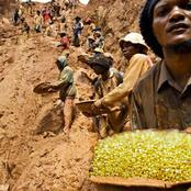Congolese Villagers Get The Biggest Surprise Of Their Lives, After Discovering Mountain Full Of Gold