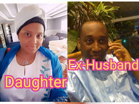 Meet The Beautiful Daughter Of Late Sani Abacha And Her Ex-Husband Who Is A Politician