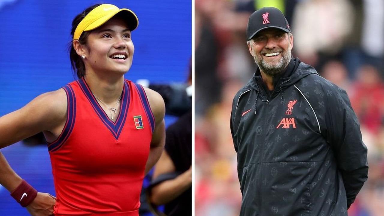 "Emma Raducanu: US Open star responds to Jurgen Klopp calling her ""talent of the century"""