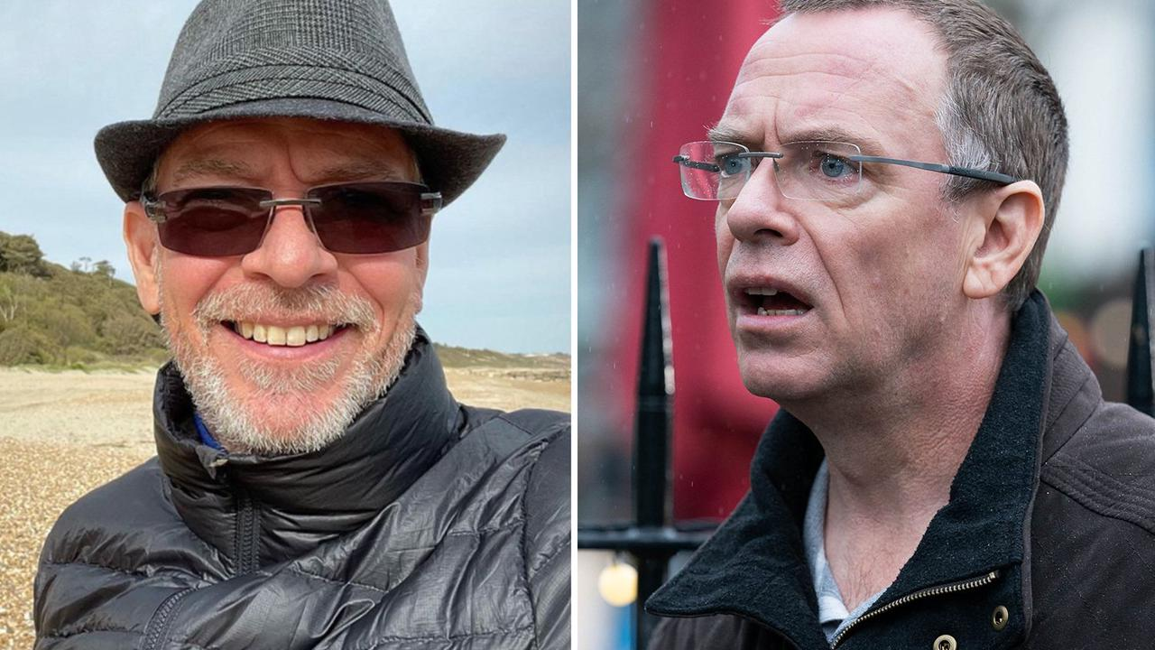 EastEnders' Adam Woodyatt looks unrecognisable in trilby hat, shades, and bushy beard after soap exit