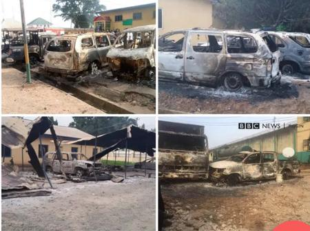 Today's Headlines: 15 Dead, 2 Police Stations Burnt Down in Anambra State, Imo State Prisoners Escape, 6 Return.