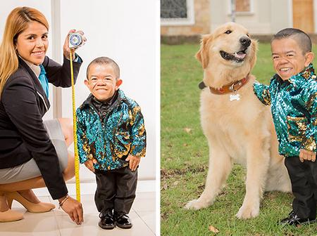Meet the shortest man in the world, see his real age and everything you need to know.