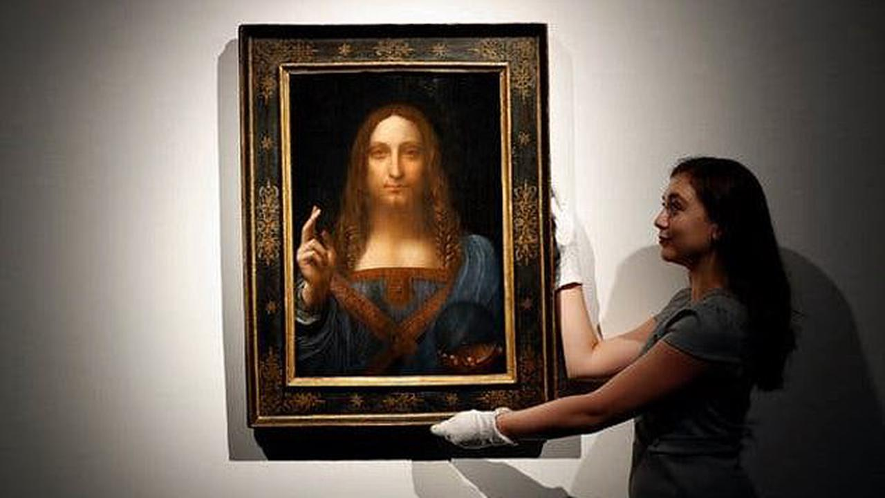 Mohammed bin Salman's $450million Salvator Mundi may be the work of Leonardo da Vinci after all: Claims the master only 'contributed' to the painting are dismissed