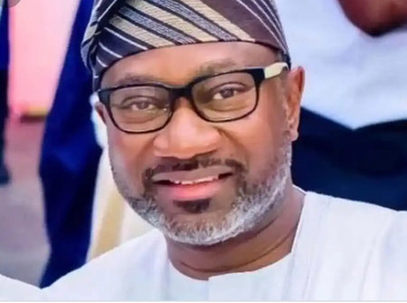 Reactions as Otedola shares throwback pictures
