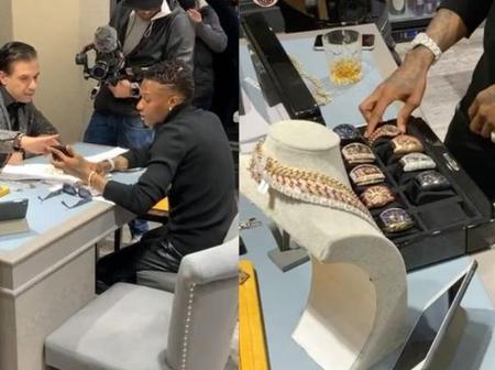 Unlike Davido, Wizkid Spends Millions Of Naira On VVS Diamonds And Doesn't Make Noise (Video)