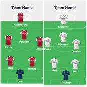 Arsenal Possible Line Ups To Revenge Their 1st leg Defeat Against Burnley