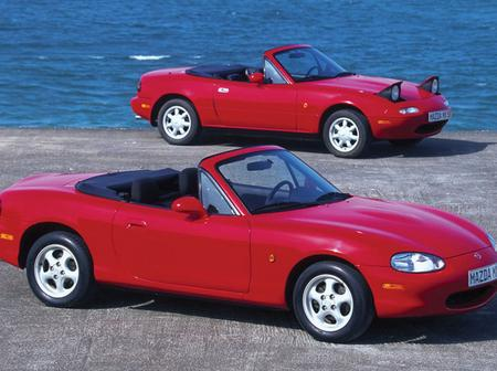 Top four sports cars and their history.