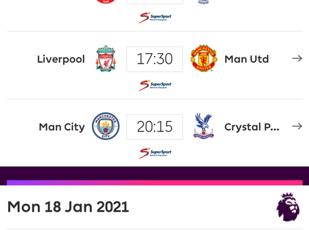 English Premier League Preview: Check out the fixtures for Saturday, Sunday, and Monday Matches