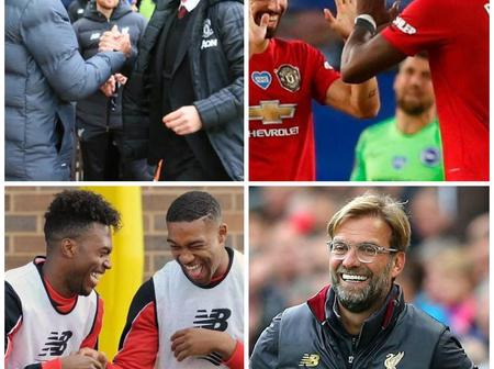 'Liverpool Didn't Want Man U To Walk Alone'-See How Rival Fans Mocked Liverpool After Loss To Villa
