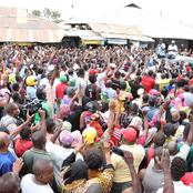 Raila Given a Heroic Reception in Nyali