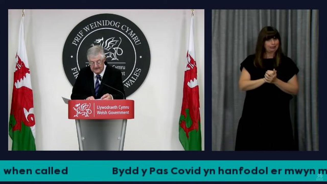Faking a lateral flow Covid test could become a criminal offence says Mark Drakeford