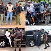See List of Nigerian Celebrities Who Abuse The Use of Police Escorts (Photos)